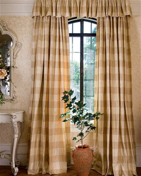 brown buffalo check curtains 17 best ideas about french curtains on pinterest