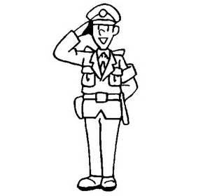 Amazing Creer Un Dessin En Ligne #10: Policier-qui-salue.gif