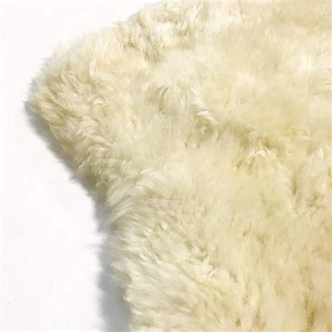 ivory sheepskin rug sheepskin rug or throw ivory at 1stdibs
