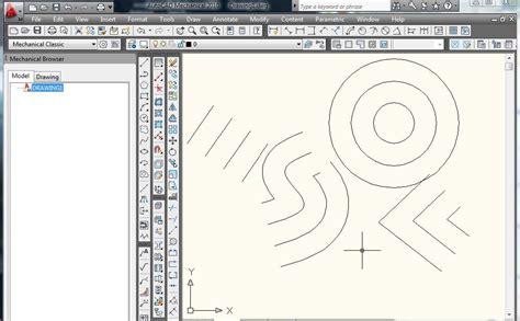 tutorial autocad mechanical tutorial como dibujar lineas y curvas paralelas en autocad