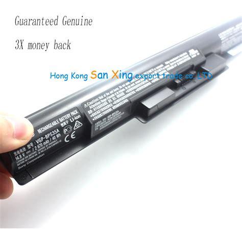 Battery Sonny Bps 8 Kw1 genuine original laptop batteries for sony vgp bps35a batteries 14 8v 2670mah 40wh kdatzrhn 14