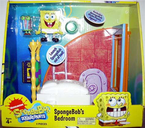 spongebob bedroom spongebobs squarepants bedroom playset