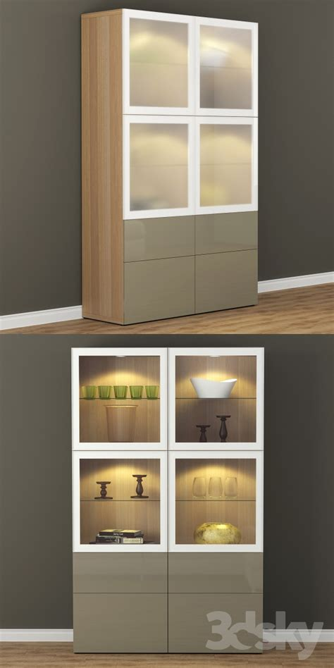 ikea besta wardrobe 3d models wardrobe display cabinets wardrobe showcase