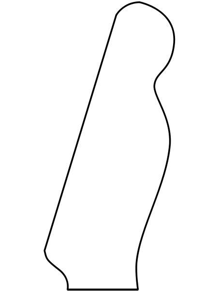 fender neck template file fender headstock telecaster svg telecasti