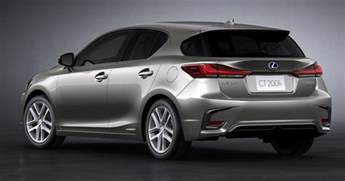 Lexus Ct 200h 2018 Lexus Ct 200h Revealed With New Styling Tech Image