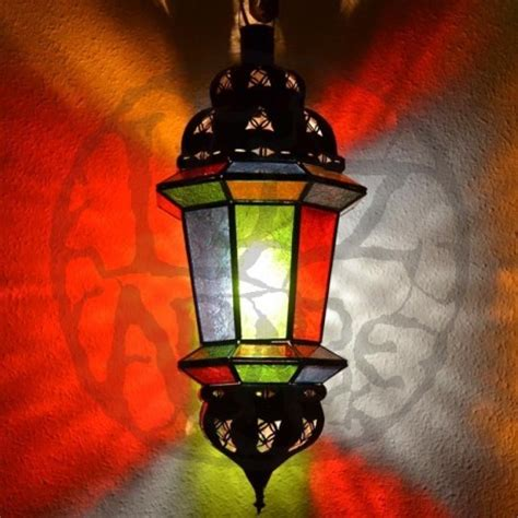 acquista lampada ottagonale andaluso  due cupole