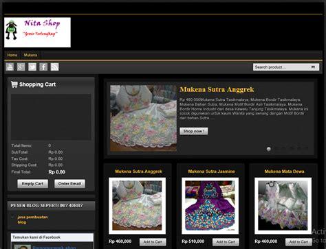 template blog toko online rupiah 3 template toko online blogspot lengkap dengan shopping