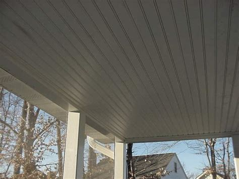pvc beadboard ceiling smoot decks and designs inc