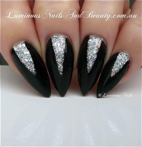 imagenes uñas color negro originales dise 241 os de u 241 as acrilicas color negro bonitas