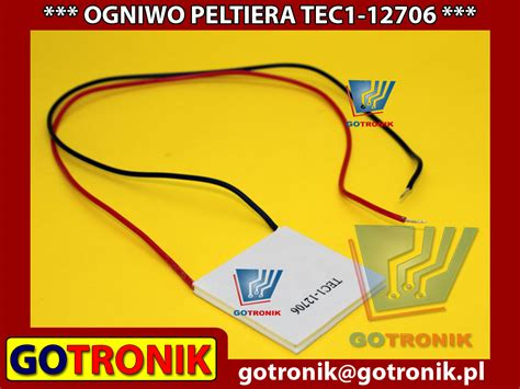 Mesin Pendingin Tec1 12706 91 2w Tec Thermoelectric Cooler Peltier tec1 12706 ogniwo peltiera