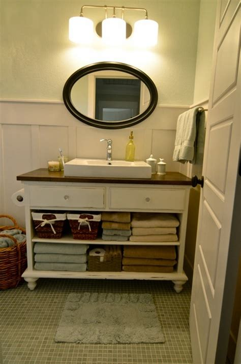 how to make a dresser into a bathroom vanity furniture redecorating diy old dresser with some simple