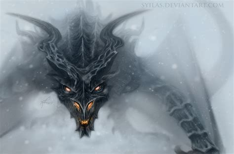alduin skyrim by kirstycarter on deviantart