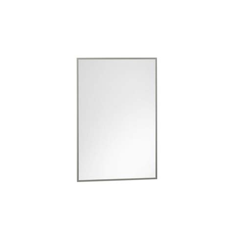 ronbow contemporary solid wood framed bathroom mirror ronbow contemporary 23 x 30 solid wood framed bathroom