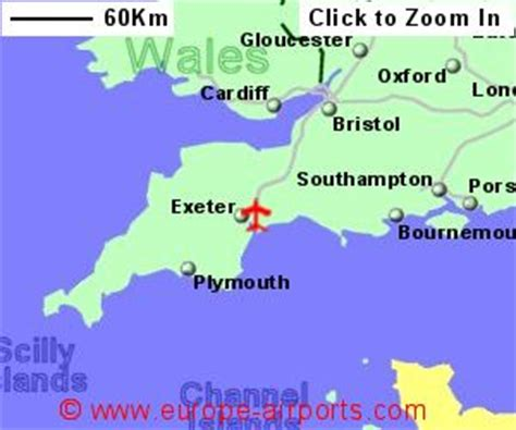 map uk exeter exeter airport ext guide flights