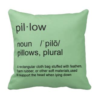 Definition Of Pillow by Definition Pillows Decorative Throw Pillows Zazzle