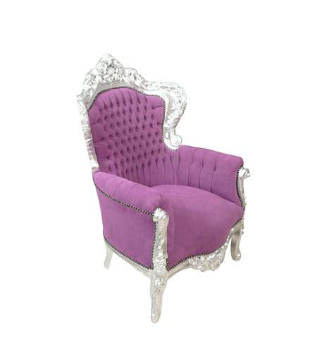 poltrona stile barocco poltrona barocca viola mobili in stile