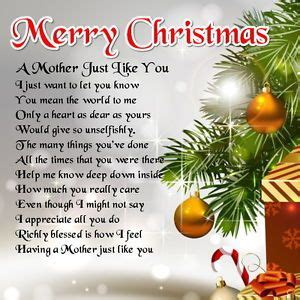 merry christmas mom poem merry christmas
