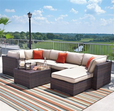 outdoor sectional signature design by ashley furniture renway outdoor