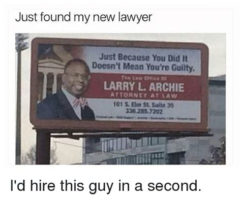 Funny Lawyer Memes - 25 best memes about guilty guilty memes