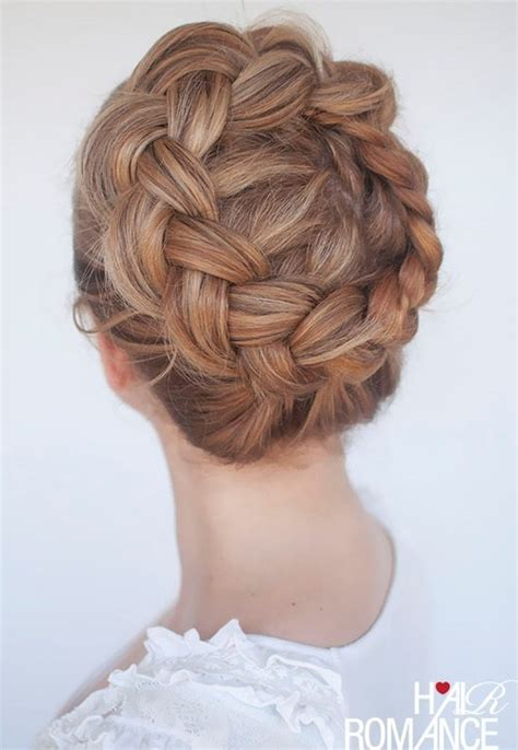 getting fullness on the hair crown 60 crown braid hairstyles for summer tutorials and ideas
