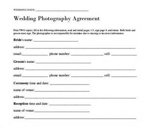 Wedding Photography Template wedding templates 15 free word excel pdf psd