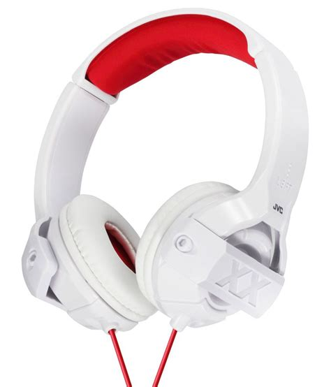 jvc ha m55x w ear wired headphone without mic white buy jvc ha m55x w ear wired