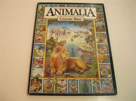 Graeme Base S Animalia Vintage Book Animalia Book Graeme Base