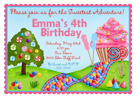 lollipop invitation template personalized invitations oh sweet by littlebeaneboutique