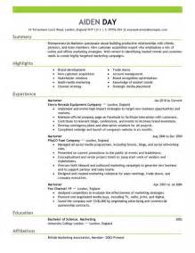 marketing resume template learnhowtoloseweight net