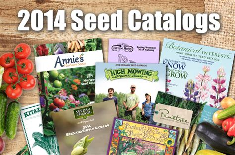 Fifty 2014 Seed Catalogs For Vegetables Herbs Flowers Free Flower Garden Catalogs