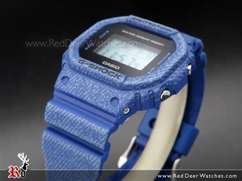 New Casio Gshock Original Dw 5600dc 2er Jdt001 Jdt002 Jdt003 casio g shock digital classic denim blue dw 5600de 2 dw5600de reddeerwatches
