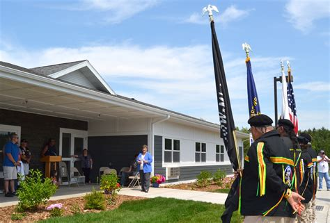 housing for veterans fond du lac band celebrates new housing for veterans dsgw architects