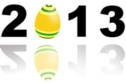 easter dates 2013 see when the easter 2013 is in this easter calendar both