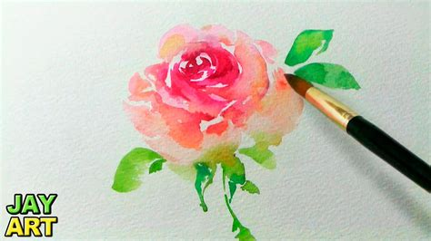how to paint a pink in watercolor