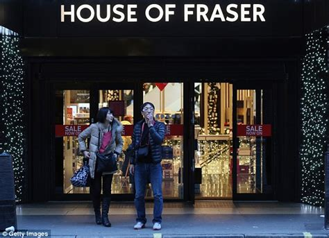 owned house of fraser sinks to a loss of 163 8 6m