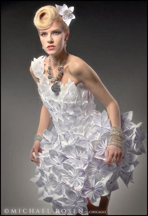 Paper Dresses - paper dresses newspaper avant garde designer