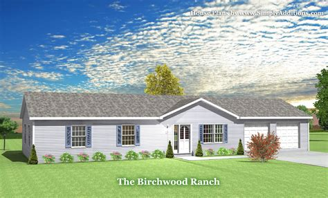 what is a ranch house birchwood modular ranch house plans