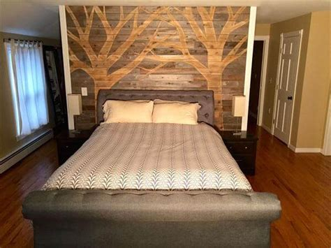 diy pallet bedroom diy pallet wall paneling pallet bedroom walls 99 pallets