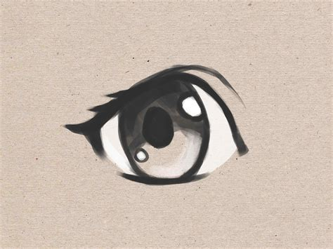 anime eyes that are easy to draw simple anime images siudy net