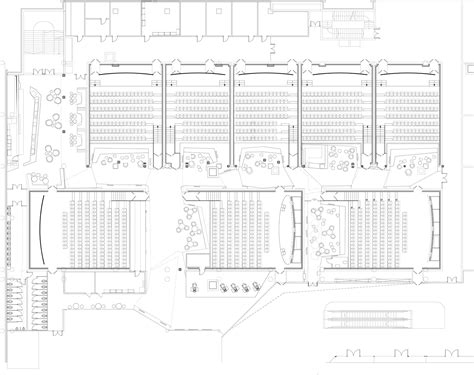 movie floor plans kronverk cinema robert majkut design archdaily