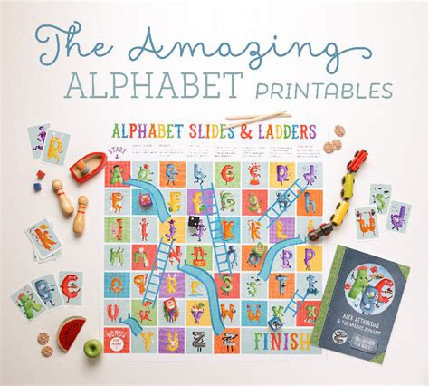 printable alphabet stories the amazing alphabet printables storybook tinyme blog