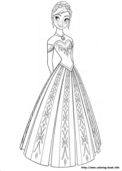 frozen fever coloring pages to print 1 - Frozen Fever Coloring Pages