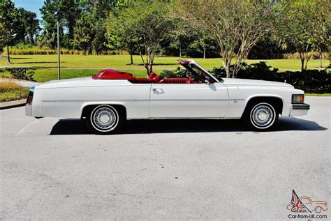 1979 Cadillac Coupe Convertible by Hess And Eisenhardt Cadillac Convertible