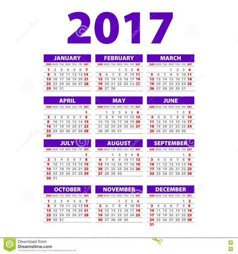 paper style 2017 full calendar template promotion poster