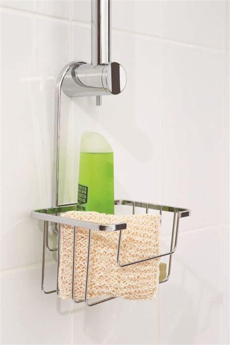 Shower Rail Soap Holder by Croydex Shower Riser Rail Caddy Basket With Hook Shoo