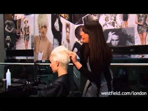 toni guy youtube how to create a slicked back hairstyle with toni guy