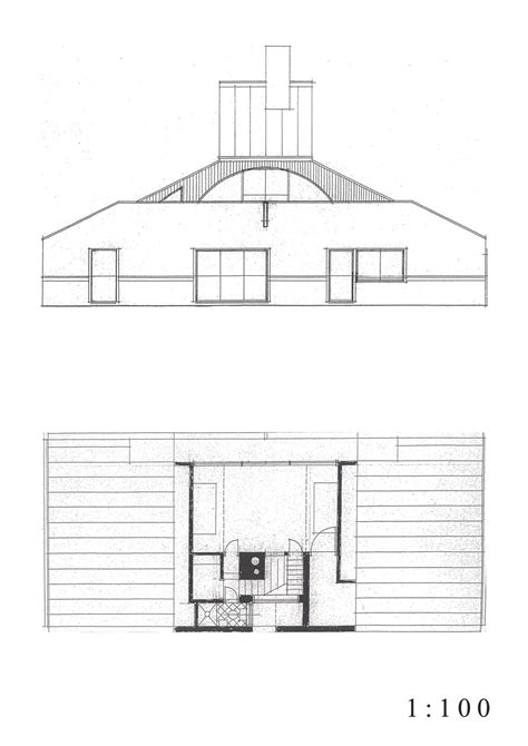 Venturi House Plan Youlyee Jun S House Plans Sections Elevations