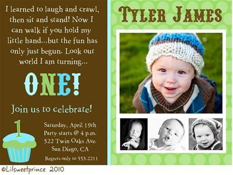 baby boy birthday invitation message baby boy 1st birthday invitation a birthday cake