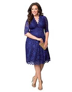 kiyonna women s plus size mademoiselle lace dress