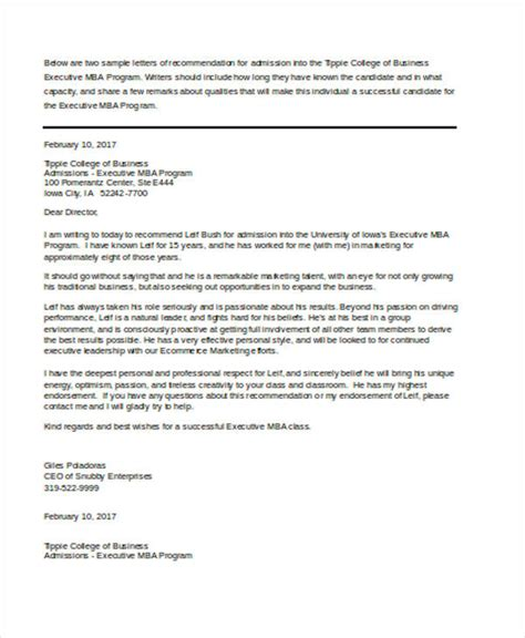 business letter of recommendation 47 recommendation letter exle templates free